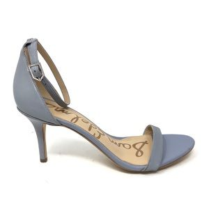 Sam Edelman Sz 10 Patti Ankle Strap Sandals Blue